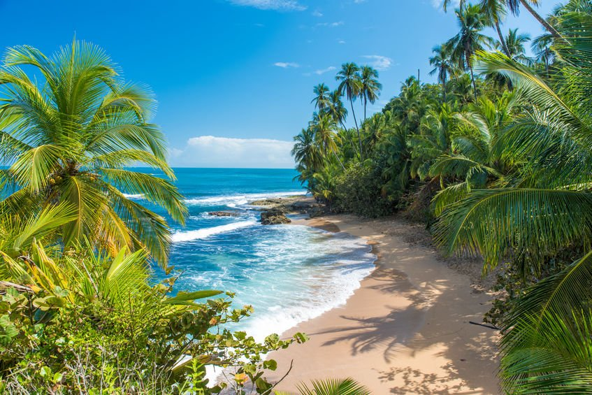 Best places to elope in Costa Rica includes Manzaniilo